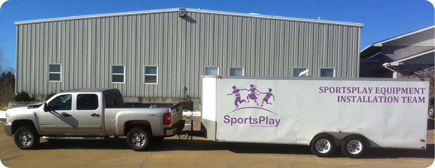 SportsPlay Equipment Installation Delivery